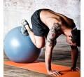 Natural Fitness Piłka do Jogi PRO Burst Resistant Exercise Ball- 75cm (szara)