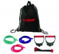 Lifeline USA Zestaw Gum Oporowych Lifeline USA Variable Resistance Training Kit(27,21kg)