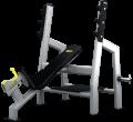 Mega Form Ławka skośna do wyciskania ze stojakami (Incline Bench Press)