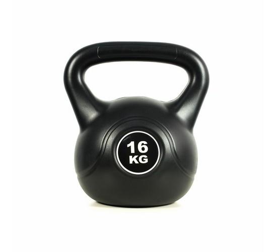 KETTLEBELL - EASY FITNESS (BLACK) 18 kg