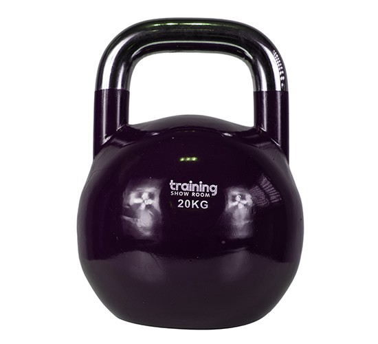 TRAINING SHOWROOM KETTLEBELL COMPETITION PREMIUM (CHROME) 20kg