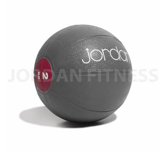 Jordan Piłka Lekarska - 2kg (Szara/Różowa)
