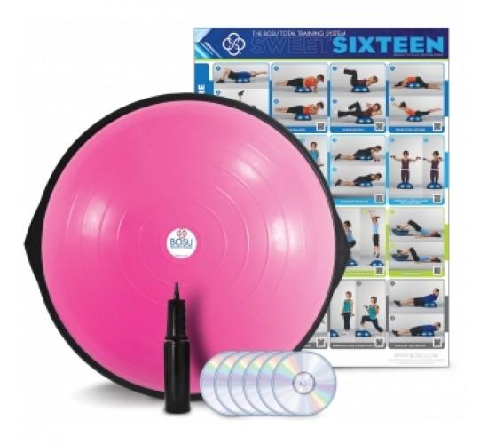 BOSU Balance Trainer Home Pink Edition