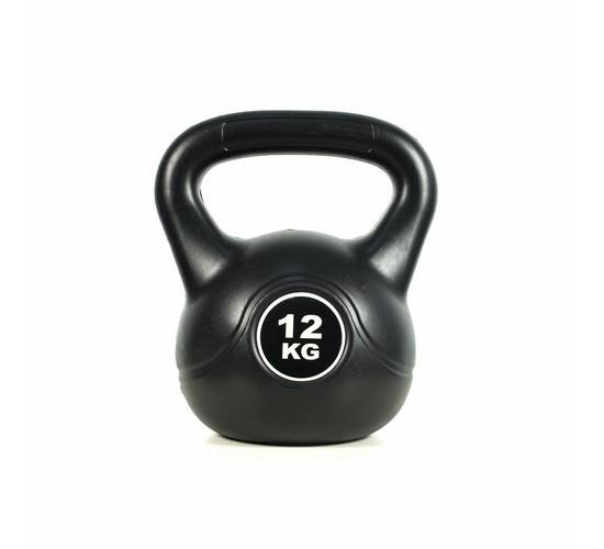 KETTLEBELL - EASY FITNESS (BLACK) 12 kg