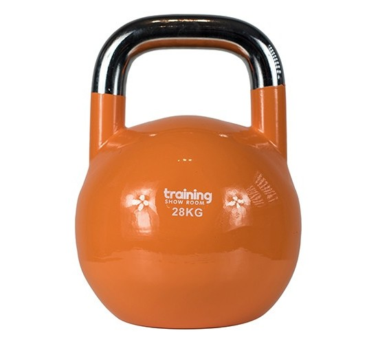 TRAINING SHOWROOM KETTLEBELL COMPETITION PREMIUM (CHROME) 28kg