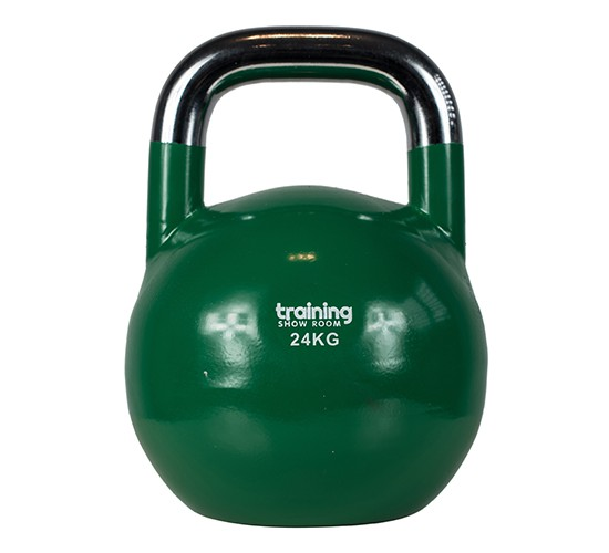 TRAINING SHOWROOM KETTLEBELL COMPETITION PREMIUM (CHROME) 24kg