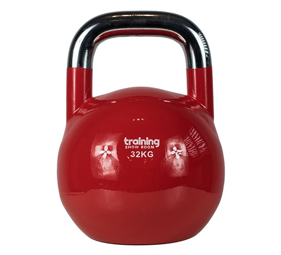 TRAINING SHOWROOM KETTLEBELL COMPETITION PREMIUM (CHROME) 32kg