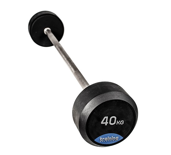 RUBBER GYM DELUXE BARBELL 20kg