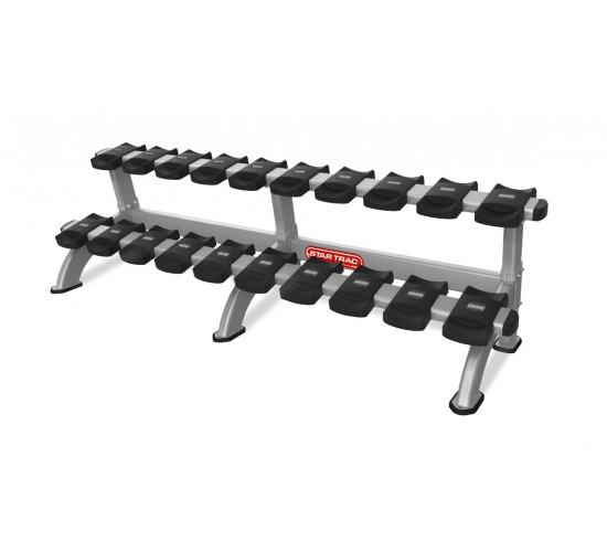 Star-Trac INSPIRATION  2 TIER DUMBBELL RACK 10 PAIR