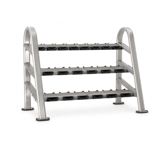 Star-Trac INSTINCT Series 10 pair 3 tier DB rack