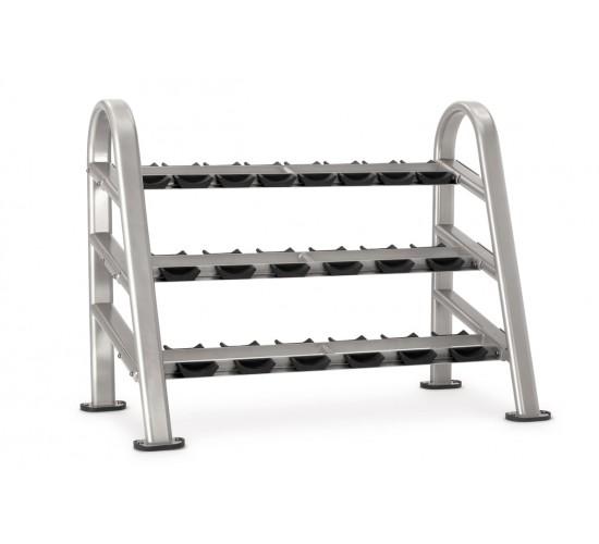 Star-Trac INSTINCT Series 10 pair 3 tier DB rack