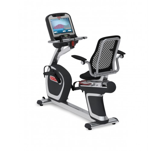 Star-Trac E-RBe E-Series recumbent bike w/media center + Embedded Screen