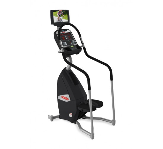 "Star-Trac E-STi E-Series stepper w/media center & 15"" screen"