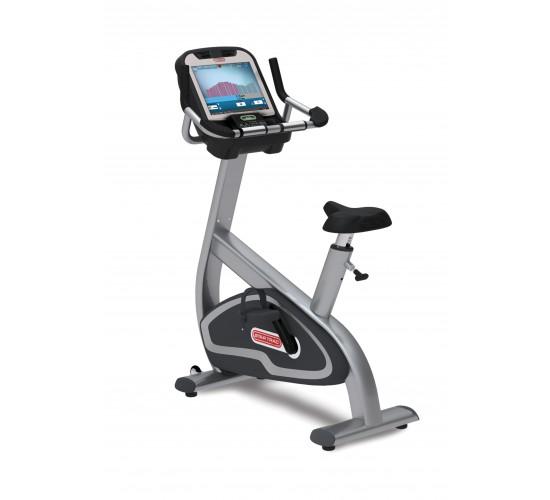 Star-Trac E-UBe E-Series upright bike w/media center + Embedded Screen