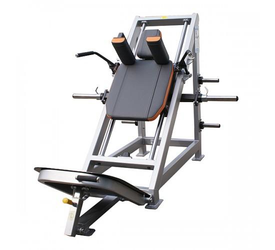 OLYMP Hack maszyna na krążki – przyrząd do ćwiczeń mięśni nóg