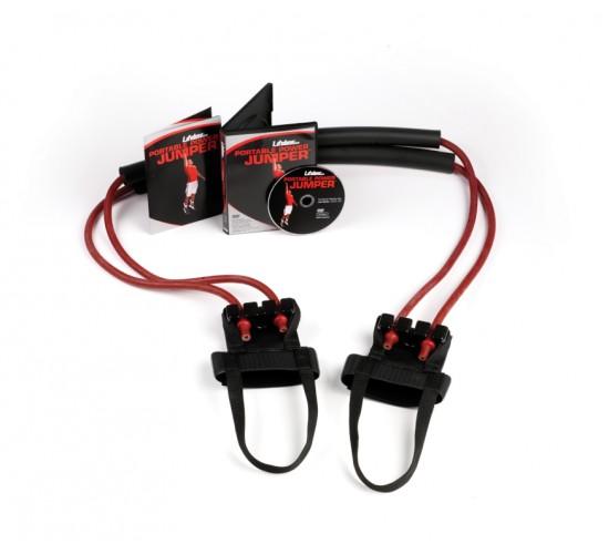 Lifeline USA Zestaw Gum do ćwiczeń  Portable Power Jumper R6 - 27,22kg (czerwone)
