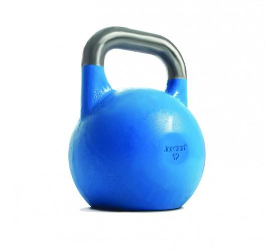 Jordan Kettlebell do zawodów 12kg - Niebieski