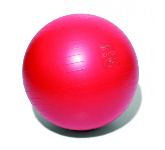 Jordan Profesjonalna Piłka do ćwiczeń FitBall 55cm (czerwona) + pompka