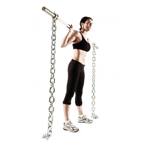 Jordan Łańcuch do ćwiczeń 31,1kg (długość 1800mm szerokość 30mm) para