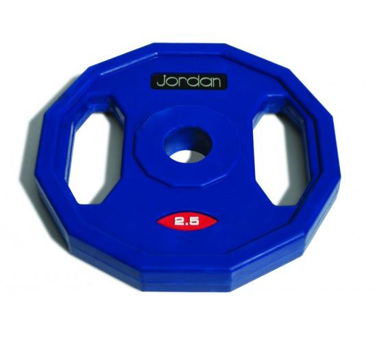 Jordan Gumowane Obciążenie Studio Fitness 2,5kg (Niebieskie)