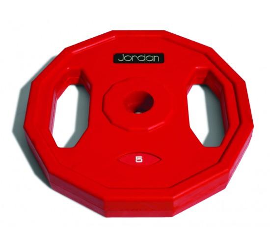 Jordan Gumowane Obciążenie Studio Fitness 5kg (Czerwone)