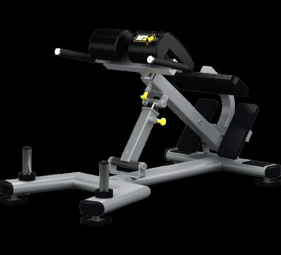 Mega Form Ławka regulowana do ćwiczeń mięśni grzbietu (Adjustable Back Extension)