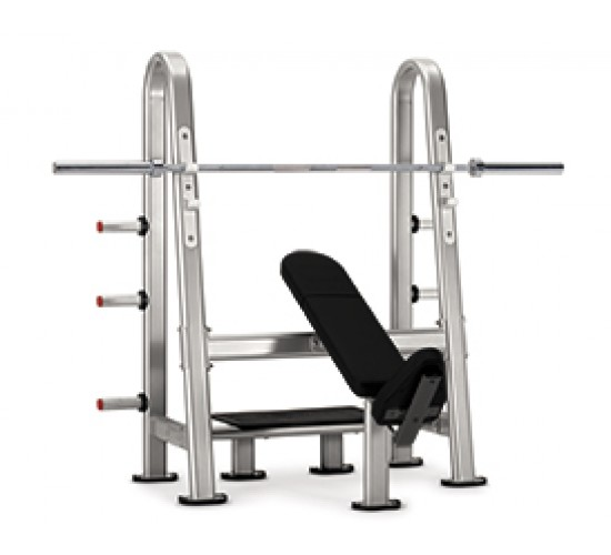 Star-Trac INSTINCT Series Olympic incline bench