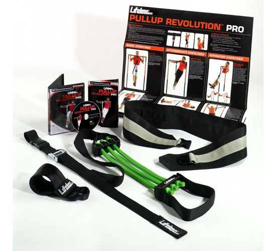 Lifeline USA System Podwieszeń Pull Up Revolution Pro Three R8 - 56,68kg