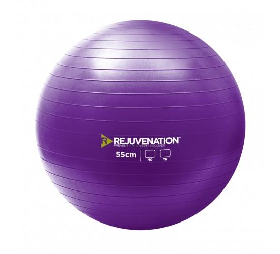 REJUVENATION Piłka Gimnastyczna do ćwiczeń Burst Resistance Exercise Ball 55cm