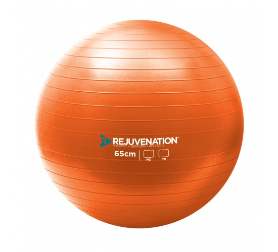 REJUVENATION Piłka Gimnastyczna do ćwiczeń Burst Resistance Exercise Ball 65cm