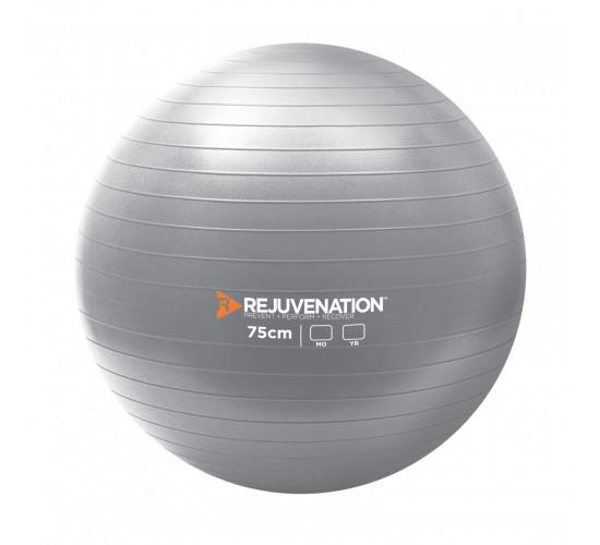 REJUVENATION Piłka Gimnastyczna do ćwiczeń Burst Resistance Exercise Ball 75cm