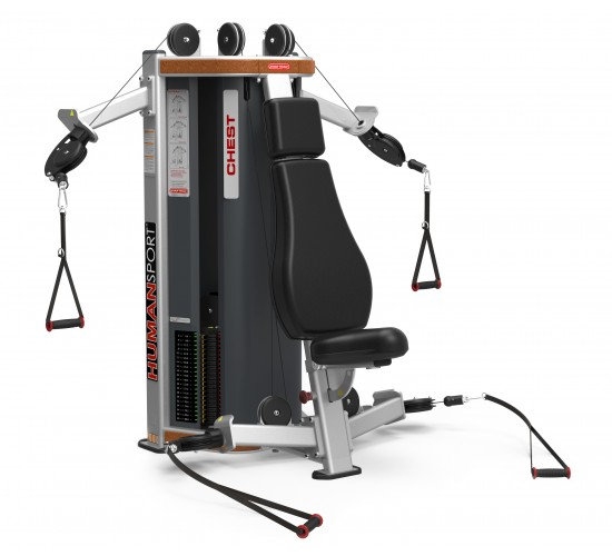 Star-Trac HUMAN SPORT Series Shoulder / Chest