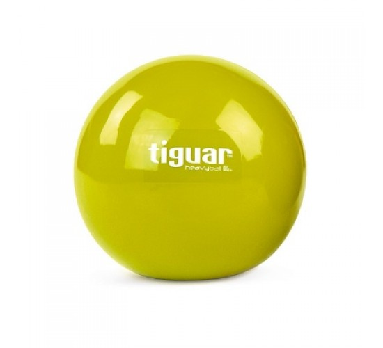 Tiguar Piłka Heavyball 0,5 kg Oliwka - 2 szt w komplecie