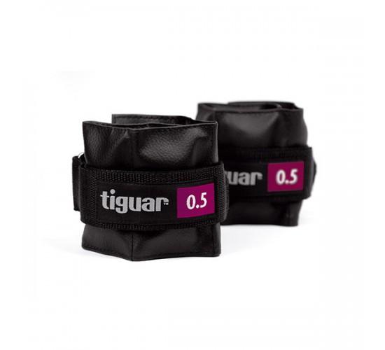 tiguar obciążniki 0,5 kg 2 szt - szary