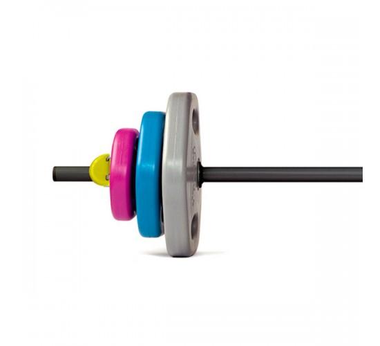 tiguar sztanga power gym 2x 1,25 kg  2x 2,5 kg  2x 4,5 kg  gryf  nowe zaciski