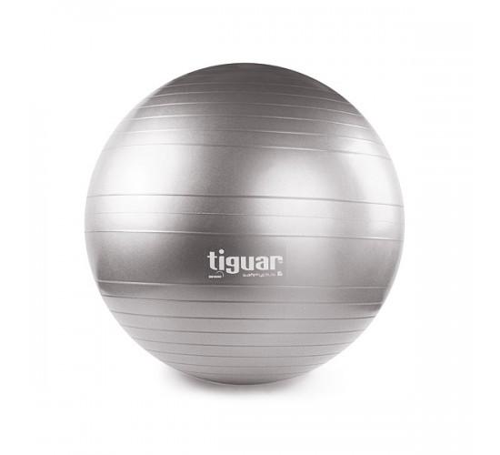 tiguar piłka safety plus 65 cm szary