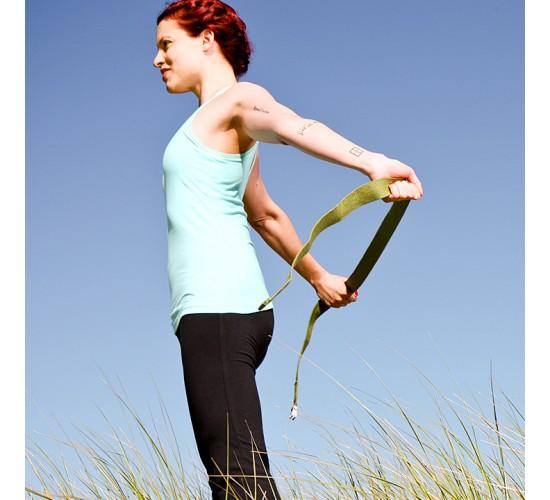 Natural Fitness Pasek do Jogi z Konopi 2,43m