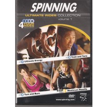 Spinning® Spinning Ultimate Rides Collection Volume 1 DVD