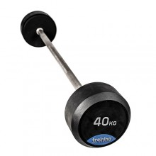 RUBBER GYM DELUXE BARBELL 40kg