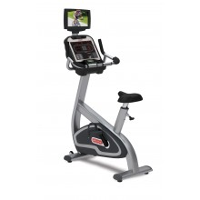 "Star-Trac E-UBi E-Series upright bike w/media center & 15"" screen"