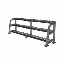 OLYMP CL - Dumbells rack, 18 pairs, 3 levels