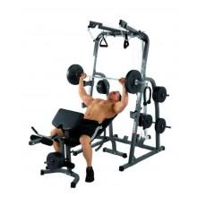 Hammer Ławeczka treningowa Solid XP + 76kg zestaw obciążeń
