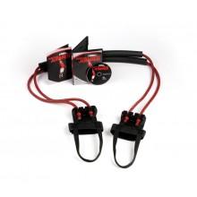 Lifeline USA Zestaw Gum do ćwiczeń  Portable Power Jumper R3 - 13,61kg (różowe)