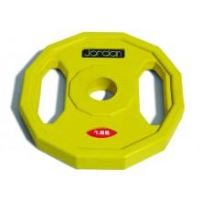 Jordan Gumowane Obciążenie Studio Fitness 1,25kg (Żółte)