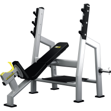Mega Form Ławka skośna do wyciskania ze stojakami (Incline Bench Press)