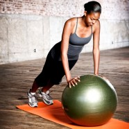 Natural Fitness Piłka do Jogi PRO Burst Resistant Exercise Ball